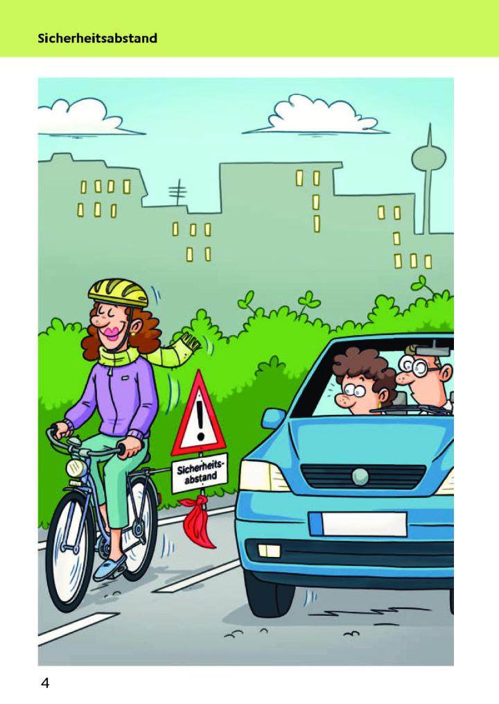 Radfahrer und Autofahrer  !!!!!!!!!!!!!!!!!!!!!!!!!  Sicherheitsabstand