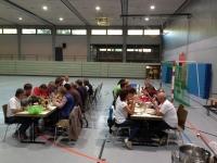 Helferessen in der Beutelsbacher Halle