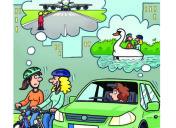 Radfahrer und Autofahrer  !!!!!!!!!!!!!!!!!!!!!!!!!  Nebeneinander fahren